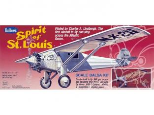 Maquette Guillow&39s avion bois 807 SPIRIT OF ST LOUIS 1/16
