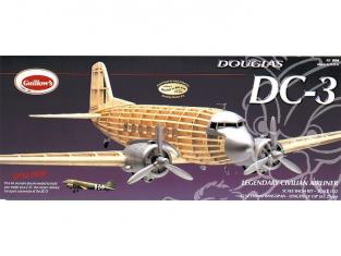 Maquette Guillow&39s avion bois 804 DOUGLAS DC-3 1/32