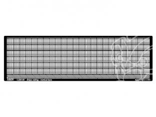Aber S1200-08 Balustrades barres verticales 1/200