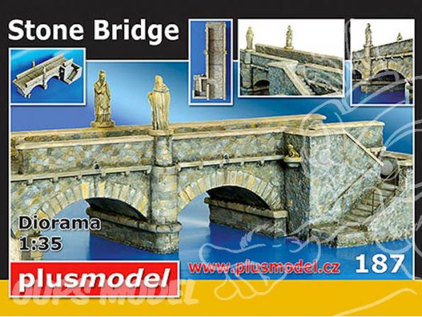 Plus Model 187 Pont en pierre 1/35