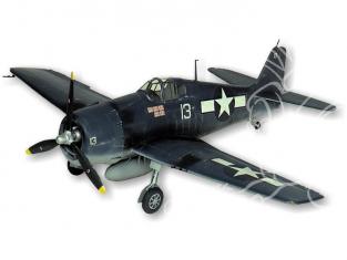 Maquette Guillow&39s avion bois 1005 Grumman F6F-3 Hellcat 1/16