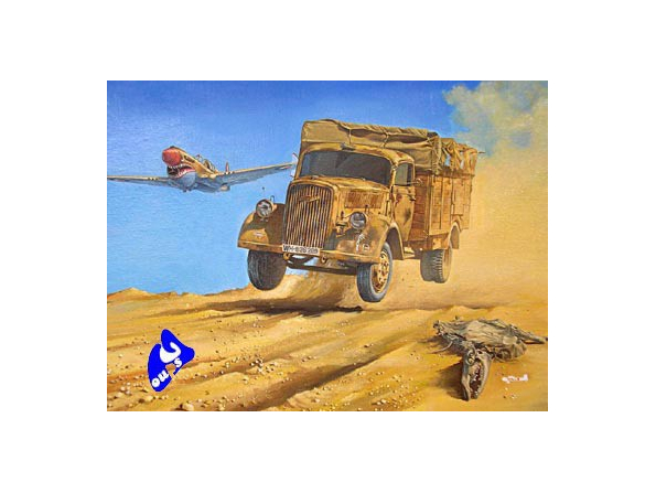 Roden maquette militaire 710 OPEL BLITZ ( Kfz.305 4X2) 1/72