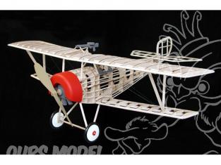 Maquette Guillow&39s avion bois 203 NIEUPORT II 1/12