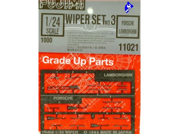 fujimi maquette voiture 11021 Photodecoupe porsche et lambo 1/24