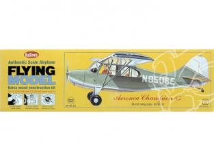 Maquette Guillow&39s avion bois 301 Aeronca 7 Champion 1/18