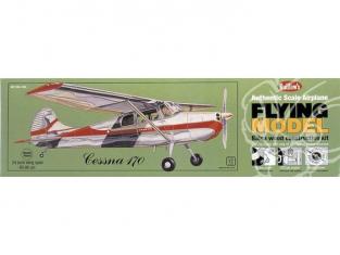 Maquette Guillow&39s avion bois 302 CESSNA 170 1/18