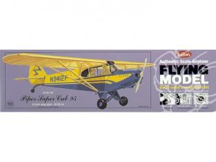 Maquette Guillow&39s avion bois 303 PIPER SUPER CUB 95 1/18