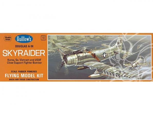 Maquette Guillow&39s avion bois 904 Douglas AD Skyraider A-1H 1/35