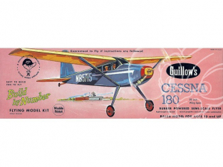 Maquette Guillow&39s avion bois 601 CESSNA 180