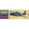 Maquette Guillow&39s avion bois 509 Grumman TBF Avenger 1/38