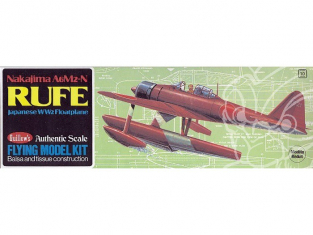 Maquette Guillow&39s avion bois 507 Nakajima A6M2-N 1/32