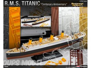 Academy maquette bateau 14214 RMS Titanic 1/700