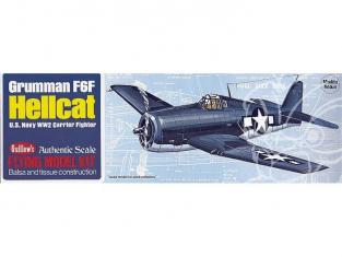 Maquette Guillow&39s avion bois 503 Grumman F6F Hellcat 1/32
