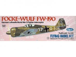 Maquette Guillow's avion bois 502 Focke-Wulf Fw 190 1/32