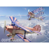 Maquette DUMAS AIRCRAFT 229 avion bois PITTS SPECIAL S-1