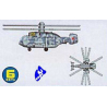 Trumpeter maquette avion 06227 HELICOPTERES KAMOV 1/350