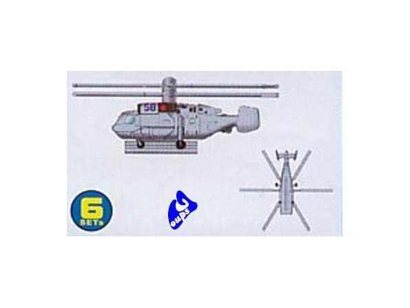 Trumpeter maquette avion 06228 HELICOPTERES KAMOV 1/350