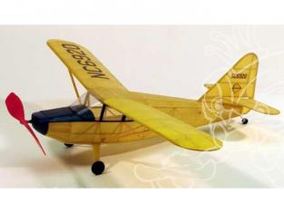 Maquette DUMAS AIRCRAFT 203 avion bois Stinson Voyager