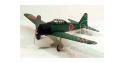 Maquette DUMAS AIRCRAFT 212 avion bois Mitsubishi A6M Zero