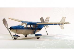 Maquette DUMAS AIRCRAFT 211 avion bois Cessna O-2 Skymaster