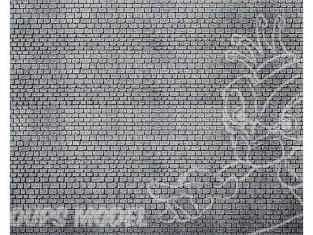 Faller 170805 Dalle décorative, Pierre de taille, grise