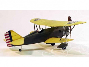 Maquette DUMAS AIRCRAFT 219 avion bois Curtiss P-6E Hawk