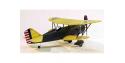 Maquette DUMAS AIRCRAFT 219 avion bois Curtiss P-6E Hawk