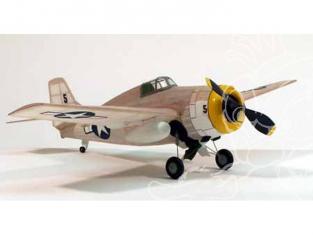 Maquette DUMAS AIRCRAFT 207 avion bois Grumman F4F Wildcat