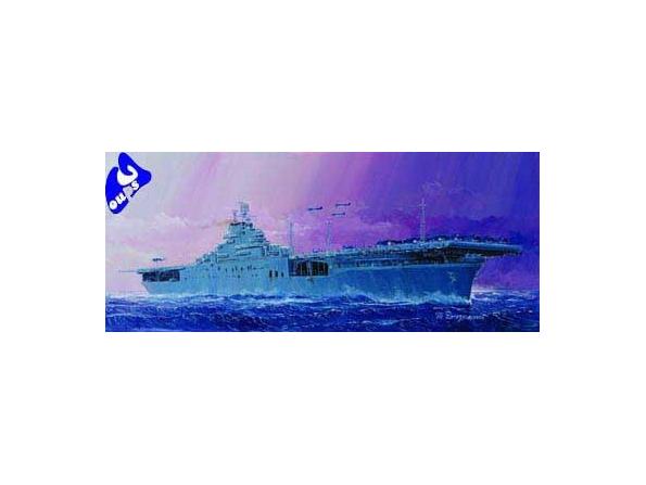 """trumpeter maquette bateau 05728 USS CV-9 """"ESSEX"""" 1/700"""