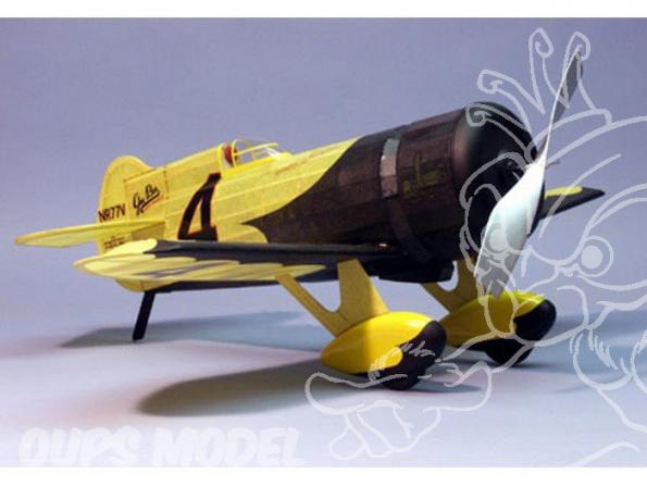 Maquette DUMAS AIRCRAFT 406 avion bois Gee Bee Z