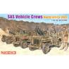 DRAGON maquette militaire 6682 Equipages de véhicule SAS 1/35