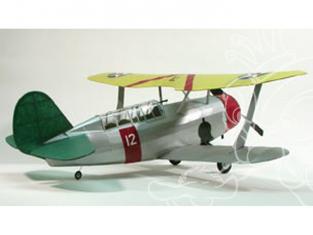 Maquette DUMAS AIRCRAFT 305 avion bois Curtiss SBC-3 Helldiver