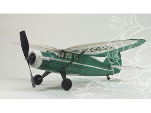 Maquette DUMAS AIRCRAFT 301 avion bois Stinson Reliant SR-10