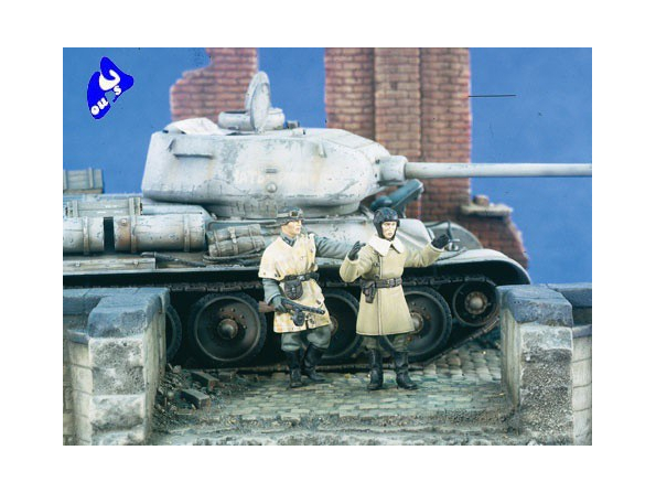 Verlinden maquette militaire 2322 Sovietique Capturé 1/35