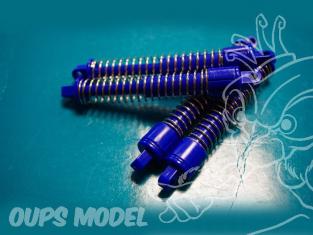 4 amortisseurs T2M T7684190