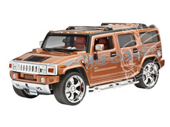 REVELL maquette voiture 07186 Hummer H2 1/25