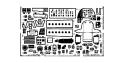 EDUARD photodecoupe avion 48126 A-20G Amt/Ertl 1/48