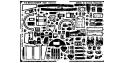 EDUARD photodecoupe avion 48132 Interieur Buccaneer Airfix 1/48