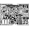 EDUARD photodecoupe avion 48132 Interieur Buccaneer 1/48