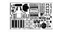 EDUARD photodecoupe avion 48134 A-36 / P-51A Accurate miniatures 1/48