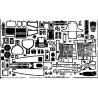 EDUARD photodecoupe avion 48175 P-39 1/48