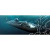 HOBBY BOSS maquette sous marin 83529 Soviet Navy Victor III 1/350