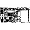 EDUARD photodecoupe avion 48183 F-100C/D Super Sabre 1/48