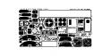 EDUARD photodecoupe avion 48207 Interieur B-17F/G Monogram 1/48