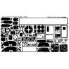 EDUARD photodecoupe avion 48207 Interieur B-17F/G 1/48