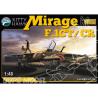 Kitty Hawk maquette avion 80111 MIRAGE F.1CT/CR ARMÉE DE L AIR 2001 1.48