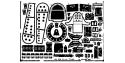 EDUARD photodecoupe avion 48212 Ki-44 Tojo Hasegawa 1/48