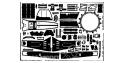 EDUARD photodecoupe avion 48224 Ta 152H-1 Dragon 1/48