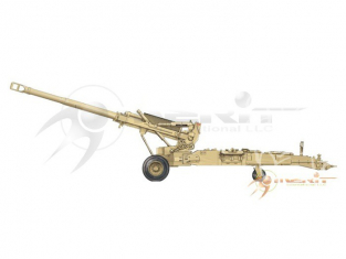 Merit maquette militaire 61602 US 155MM M198 TOWED HOWITZER 1/16