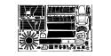 EDUARD photodecoupe avion 48264 Ki-27 Nate Hasegawa 1/48